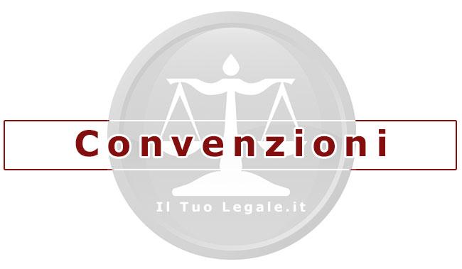 convenzioni con studio legale