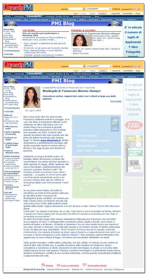 """Lineaedp PMI / Il Sole 24 Ore: """"Il Tuo Legale.it…"""""""