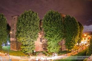 Vista del Castello dalle finestre dello studio