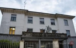 La palazzina storica di fianco al Castello, sede dello studio, via Don Albertario 13