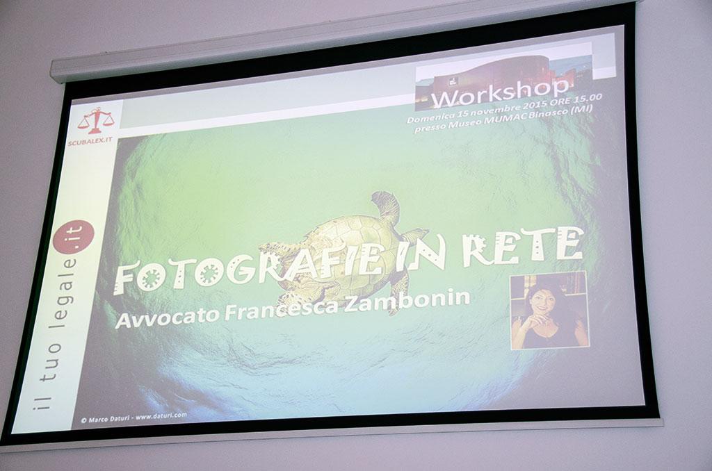 Fotografia in rete, la presentazione