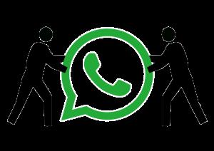 licenziamento tramite WhatsApp